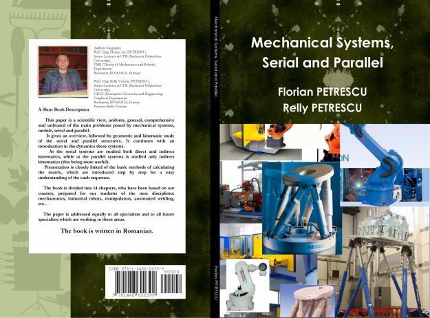 A aparut cartea Sisteme mecanice (mobile) seriale si paralele - Pret | Preturi A aparut cartea Sisteme mecanice (mobile) seriale si paralele