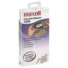 Vand caseta adaptor vhs-c Maxell sigilata 120 ron. - Pret | Preturi Vand caseta adaptor vhs-c Maxell sigilata 120 ron.