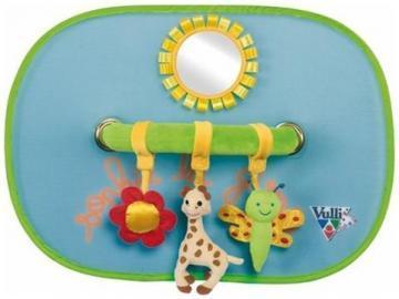 Set de 2 parasolare cu jucarii Girafa Sophie - Pret | Preturi Set de 2 parasolare cu jucarii Girafa Sophie