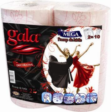 Prosoape decor Gala, 2 straturi, 2 role/set - Pret | Preturi Prosoape decor Gala, 2 straturi, 2 role/set