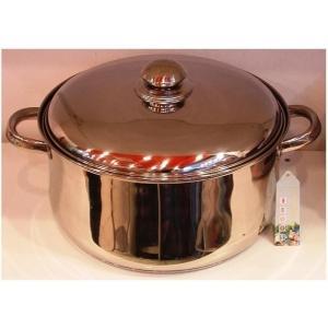 Cratita din inox cu capac capacitate 10 litri Grunberg GR1928 - Pret | Preturi Cratita din inox cu capac capacitate 10 litri Grunberg GR1928