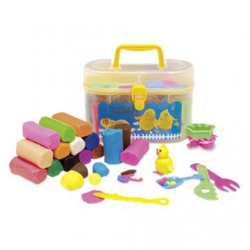 Set cadou plastilina in cutie cu maner - Pret | Preturi Set cadou plastilina in cutie cu maner
