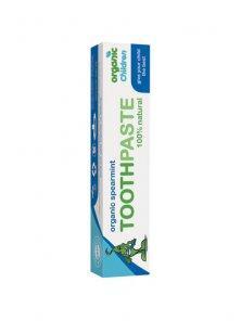 Pasta de dinti cu menta si aloe vera organica, pt. copii Green People - Pret | Preturi Pasta de dinti cu menta si aloe vera organica, pt. copii Green People