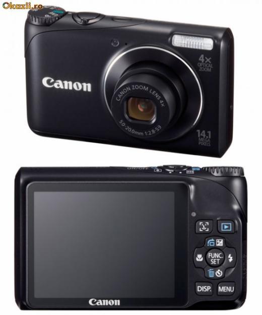 CANON PowerShot A2200 - Noua 80 Euro - Pret | Preturi CANON PowerShot A2200 - Noua 80 Euro