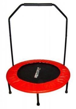 Trambulina cu Maner pentru Copii Insportline - Skippy (122 cm) - Pret | Preturi Trambulina cu Maner pentru Copii Insportline - Skippy (122 cm)
