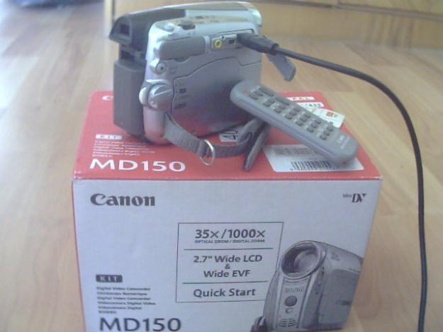 Vand Camera video Canon MD150, in garantie.URGENT! - Pret | Preturi Vand Camera video Canon MD150, in garantie.URGENT!
