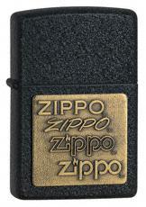 Bricheta Zippo Neagra Emblema Alama - Pret | Preturi Bricheta Zippo Neagra Emblema Alama