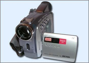 VAND CAMERA VIDEO CANON MV 700i - Pret | Preturi VAND CAMERA VIDEO CANON MV 700i