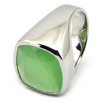 Silver4You.ro - Inel argint si milky verde - Pret | Preturi Silver4You.ro - Inel argint si milky verde