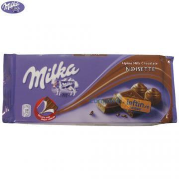 Ciocolata Milka Noisette 100 gr - Pret | Preturi Ciocolata Milka Noisette 100 gr