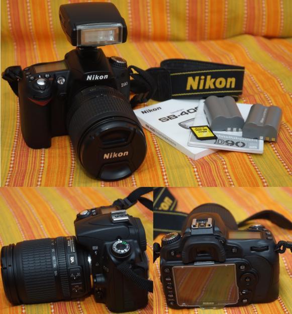 NIKON D90 + obiectiv 18-105 + blitz sb 400 - Pret | Preturi NIKON D90 + obiectiv 18-105 + blitz sb 400
