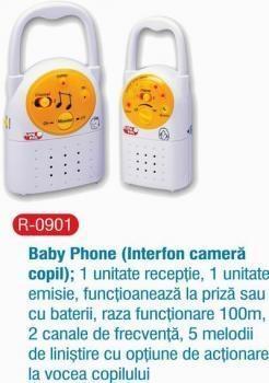 Primii Pasi - Baby Phone (Interfon camera copil) R0901 - Pret | Preturi Primii Pasi - Baby Phone (Interfon camera copil) R0901