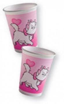 Pisicuta Marie - Pahare Plastic, 200 ml (8 buc.) - Pret | Preturi Pisicuta Marie - Pahare Plastic, 200 ml (8 buc.)