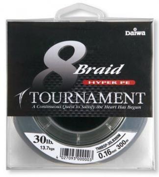 Fir DAIWA Tournament 8XBRAID 0.10mm/6.6kg/135m - Pret | Preturi Fir DAIWA Tournament 8XBRAID 0.10mm/6.6kg/135m