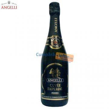 Vin spumant demisec Angelli Cuvee Imperial 0.75 L - Pret | Preturi Vin spumant demisec Angelli Cuvee Imperial 0.75 L
