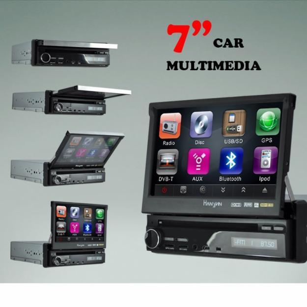 DVD Auto - 7 inch - GPS , TV , Bluetooth , full , super model - 999 lei - Pret | Preturi DVD Auto - 7 inch - GPS , TV , Bluetooth , full , super model - 999 lei