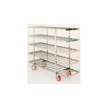 Carucior inox pentru congelare, 2000 x 635 x 1610 mm - Pret | Preturi Carucior inox pentru congelare, 2000 x 635 x 1610 mm