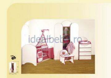 Bretco Design - Dormitor MARGOT roz - Pret | Preturi Bretco Design - Dormitor MARGOT roz
