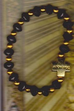 Metanie bile negre si aurii-Cruce - Pret | Preturi Metanie bile negre si aurii-Cruce