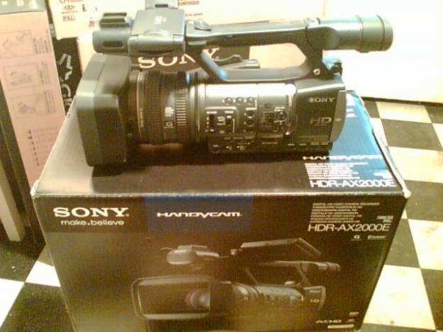 Vand Sony AX2000 / Sony NX5 / Sony FX1000 / Panasonic HMC151 . Sigilate, Pret Final. - Pret | Preturi Vand Sony AX2000 / Sony NX5 / Sony FX1000 / Panasonic HMC151 . Sigilate, Pret Final.