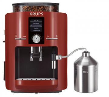 Automate cafea - Krups EA 8255 Piano Sistem termobloc mentinere cald Rosu - Pret | Preturi Automate cafea - Krups EA 8255 Piano Sistem termobloc mentinere cald Rosu