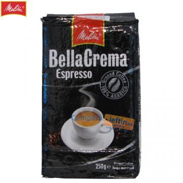 Cafea macinata Melitta Bella Crema Espresso 250g - Pret | Preturi Cafea macinata Melitta Bella Crema Espresso 250g
