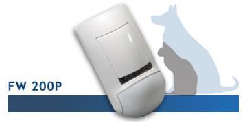 Detector de miscare PIR wireless Crow FWP 200 - Pret | Preturi Detector de miscare PIR wireless Crow FWP 200