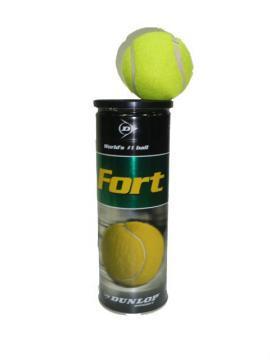 Set 4 mingi tenis de camp DUNLOP Fort - Pret   Preturi Set 4 mingi tenis de camp DUNLOP Fort