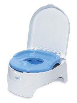 Olita All-in-One Potty Seat&Step Stool Blue - Summer Infant - Pret | Preturi Olita All-in-One Potty Seat&Step Stool Blue - Summer Infant