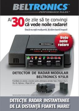 Beltronics Vector 975R Euro, detector radar - Pret | Preturi Beltronics Vector 975R Euro, detector radar