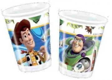 Toy Story 3  - Pahare Plastic, 200 ml (10 buc.) - Pret | Preturi Toy Story 3  - Pahare Plastic, 200 ml (10 buc.)