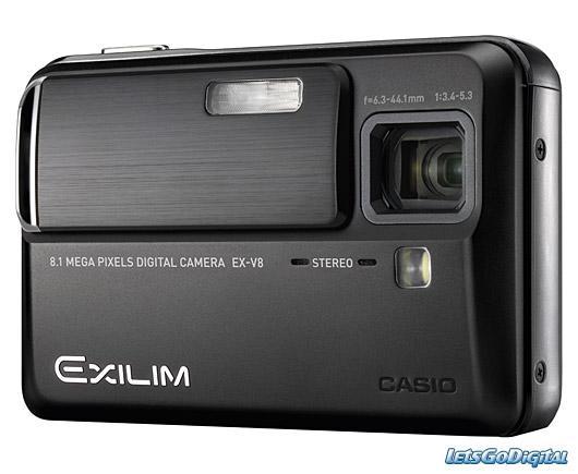 Aparat foto digital CASIO EXILIM EX-V8 Hi-Zoom 7x optic !!! - Pret | Preturi Aparat foto digital CASIO EXILIM EX-V8 Hi-Zoom 7x optic !!!