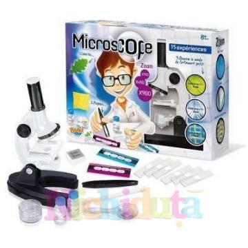 Microscop scolar + 15 experimente - Pret | Preturi Microscop scolar + 15 experimente