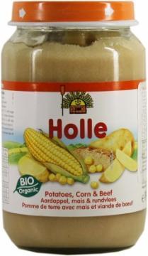 Meniu piure bio cartofi, porumb, carne de vita - Pret | Preturi Meniu piure bio cartofi, porumb, carne de vita