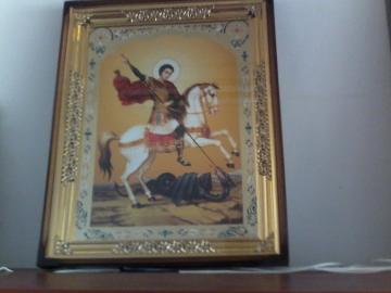 Icoana Sfantului Gheorghe - Pret | Preturi Icoana Sfantului Gheorghe
