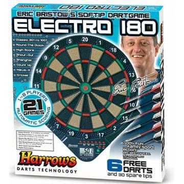 Darts de perete electronic softip Electro 180 - Pret | Preturi Darts de perete electronic softip Electro 180