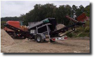 Ciur rotativ cernere compost moloz ,pietris  model KS-T compact 65.450,EURO - Pret | Preturi Ciur rotativ cernere compost moloz ,pietris  model KS-T compact 65.450,EURO
