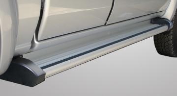 Prag lateral din aluminiu  cu, cauciuc antiderapant - Pret | Preturi Prag lateral din aluminiu  cu, cauciuc antiderapant