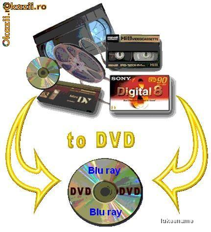 Transfer casete VHS  8mm  HI8  Digital8  MiniDV pe DVD  Blu-ray - Pret | Preturi Transfer casete VHS  8mm  HI8  Digital8  MiniDV pe DVD  Blu-ray