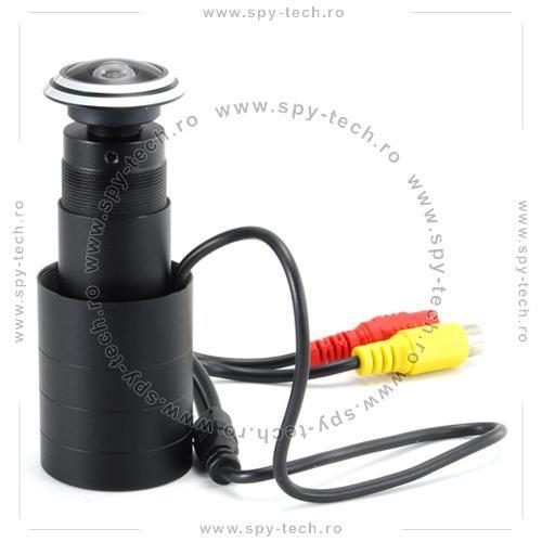 Camera supraveghere disimulata in vizor de usa - Pret | Preturi Camera supraveghere disimulata in vizor de usa