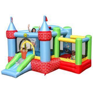 Spatiu Gonflabil  Castel cu loc de joaca cu bile - Pret | Preturi Spatiu Gonflabil  Castel cu loc de joaca cu bile