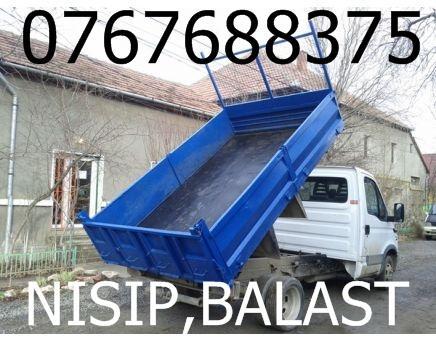Transport nisip piatra balast pietris transport moloz 0767688375 - Pret | Preturi Transport nisip piatra balast pietris transport moloz 0767688375