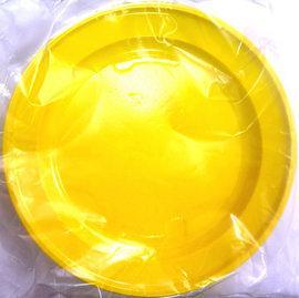 Set de 50 Farfurii plastic unica folosinta pentru desert 17 cm GALBEN - Pret | Preturi Set de 50 Farfurii plastic unica folosinta pentru desert 17 cm GALBEN