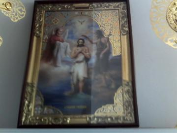 Icoana ,Botezul Domnului - Pret | Preturi Icoana ,Botezul Domnului