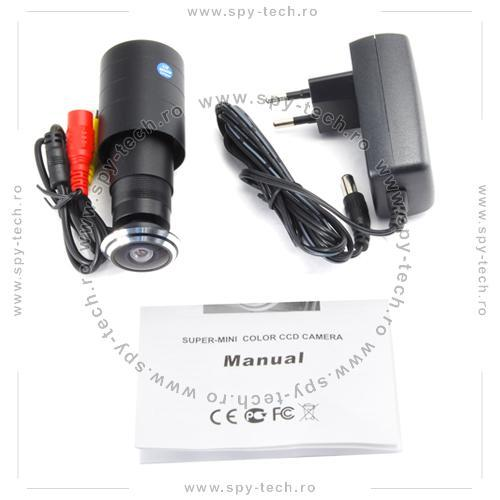 Vizor de usa cu camera de filmat - Pret | Preturi Vizor de usa cu camera de filmat