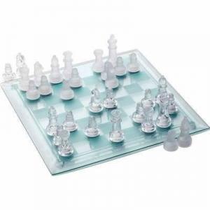 Joc sah cu piese si tabla de joc din sticla xl - Pret | Preturi Joc sah cu piese si tabla de joc din sticla xl
