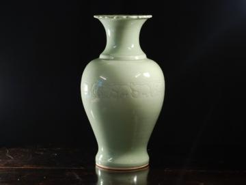 Exotique - Vaza din Celadon - Pret | Preturi Exotique - Vaza din Celadon