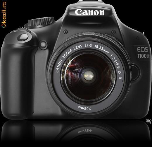 CANON EOS 1100D + obiectiv EF-s 18-55mm kit Sigilat - Pret | Preturi CANON EOS 1100D + obiectiv EF-s 18-55mm kit Sigilat