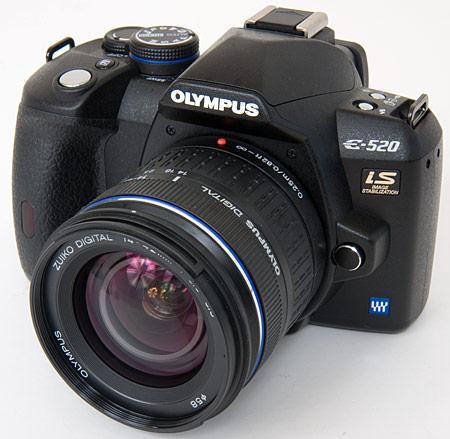 Olympus E520 dublu kit cu garantie - Pret | Preturi Olympus E520 dublu kit cu garantie