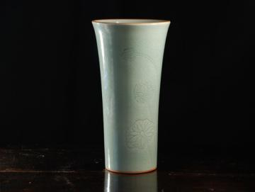 Exotique-Vaza din Celadon - Pret | Preturi Exotique-Vaza din Celadon